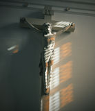 Jesus on the cross Royalty Free Stock Photography