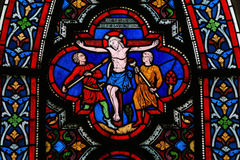 Jesus on the cross Royalty Free Stock Images