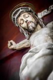 Jesus on the cross Royalty Free Stock Photo