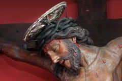 Jesus on the cross. Jesus Christ on the cross Stock Image