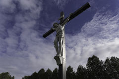 Jesus on the Cross Royalty Free Stock Photo