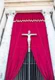 Jesus on Cross in Vatican Royalty Free Stock Photo