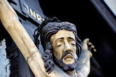 Jesus on cross Stock Photos