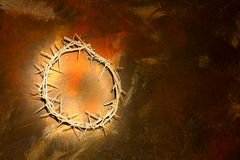 Jesus crown Stock Images