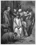 Jesus Is Crowned met Doornen royalty-vrije stock fotografie