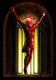 Jesus crucificado Fotos de Stock Royalty Free