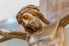 Jesus crucified imagem de stock
