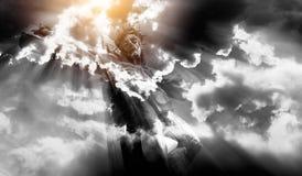 Jesus crucified Fotografie Stock