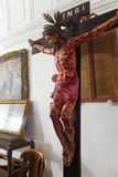 Jesus crucified Stock Images