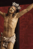 Jesus crucified Royalty Free Stock Photo