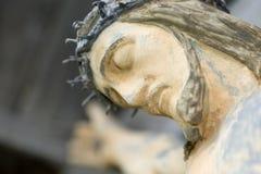 Jesus on crucifix. Closeup of Jesus on a crucifix Stock Photography
