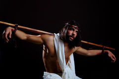 Jesus Crucifixion stock afbeeldingen