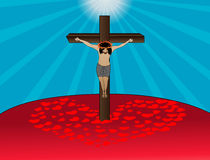 Jesus Crucifixion Royalty Free Stock Photography