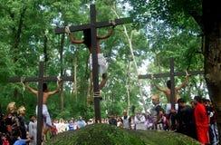 JESUS CRUCIFIXION Royalty Free Stock Photos