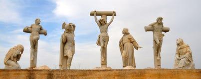 Jesus Crucifixion Statue Imágenes de archivo libres de regalías