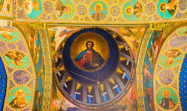 The Jesus in cupola Stock Photos
