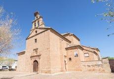 Jesus del Llano Camarin-kapel, La Encina, Jaen, Sapin van Baños DE royalty-vrije stock afbeelding