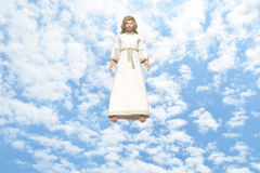Jesus Descending From Heaven Royalty Free Stock Photography