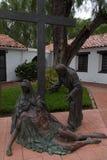 Jesus Down van Kruis Royalty-vrije Stock Afbeeldingen
