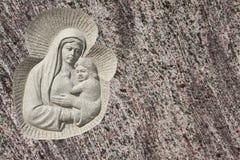 jesus dziewica Mary zdjęcie royalty free