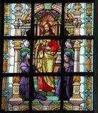 Jesus e duas freiras fotografia de stock royalty free