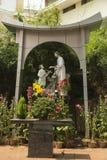 Jesus e Joseph o carpinteiro fotografia de stock royalty free