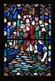 Jesus e os discípulo Fotografia de Stock Royalty Free