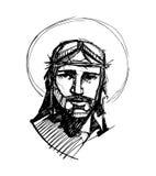 Jesus em sua paixão c Fotografia de Stock Royalty Free