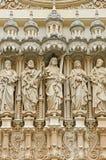 Jesus en de Discipelen in Montserrat Royalty-vrije Stock Afbeeldingen