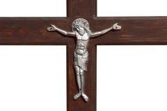 Jesus en kruis royalty-vrije stock foto's
