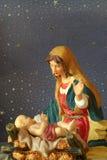 Jesus en Moeder Mary Royalty-vrije Stock Afbeelding