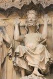 Jesus enthroned Stock Photos