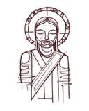 Jesus förrådde Fotografering för Bildbyråer