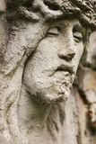 Jesus face statue Stock Photography