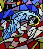 Jesus falls the third time Stock Photos