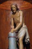Jesus ferito Immagini Stock Libere da Diritti