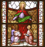 Jesus friend of children royalty free stock image