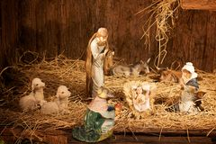 Jesus geboren Lizenzfreie Stockfotografie
