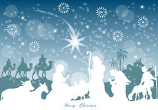 Jesus-Geburt Christi Lizenzfreie Stockbilder