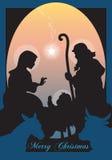 Jesus-Geburt Christi Lizenzfreie Stockfotografie