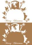 Jesus-Geburt Christi Stockbild