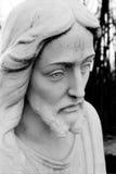 Jesus-Gesichtsnahaufnahme Stockfoto