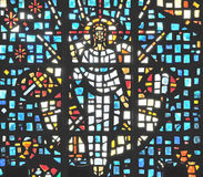 Jesus in Glass. Image of Jesus in Staind Glass window Stock Images