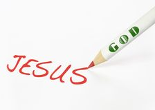 Jesus is God Royalty Free Stock Photos