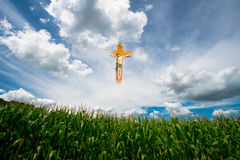 Jesus, God, Religion, Heaven, Clouds Royalty Free Stock Image