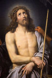 Jesus on Good Friday - painting in Museum of Rouen Stock Image