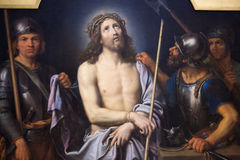 Jesus on Good Friday - painting in Museum of Rouen Royalty Free Stock Images