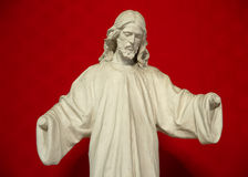 Jesus without hands Stock Photos