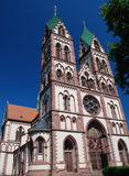 Jesus-heilige Inner-Kirche, Freiburg in Breisgau Lizenzfreies Stockbild