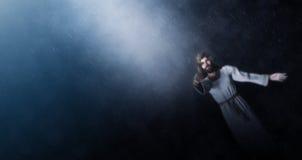 Jesus Is Here For dig Arkivbild